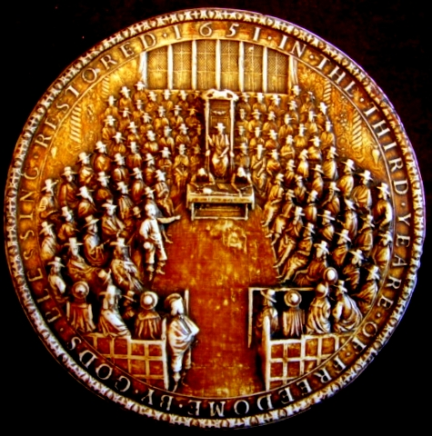 Great Seal of England 1651