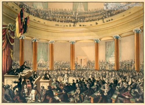 Diète de la Paulskirche de Francfort  en 1848