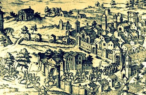 Prise de Nîmes par la cavalerie calviniste le 14 novembre 1569
