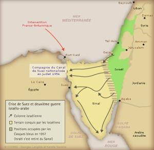 Guerre Suez 1956-57