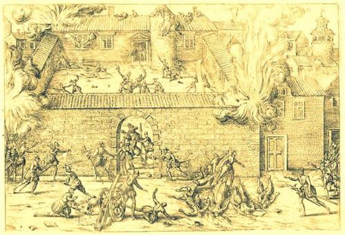 Massacre de Cahors (Quercy), le 18 novembre 1561