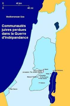 Pertes juives 1948