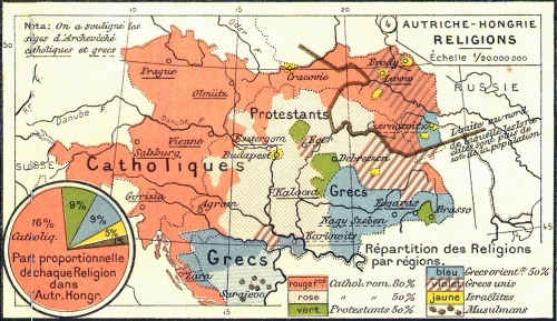 Les trois poches réformées en Hongrie et Transylvanie et début du XXe siècle