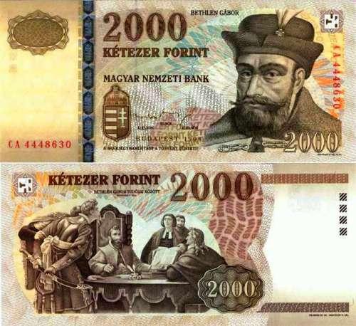 Le prince de Transylvanie Gabriel Bethlen (1580-1629) recevant le conseil d'un pasteur sur une monnaie hongroise