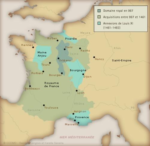 La France en 1483