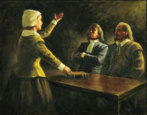 Femme plaidant à Genève