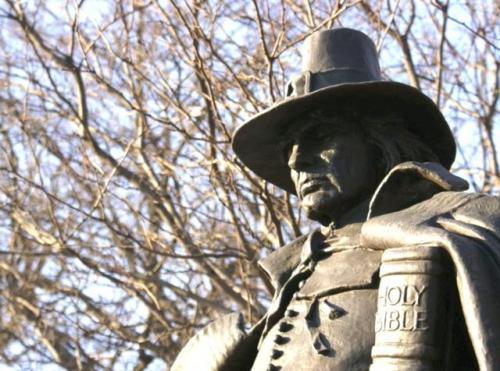 """The Pilgrim"" in Philadelphia"