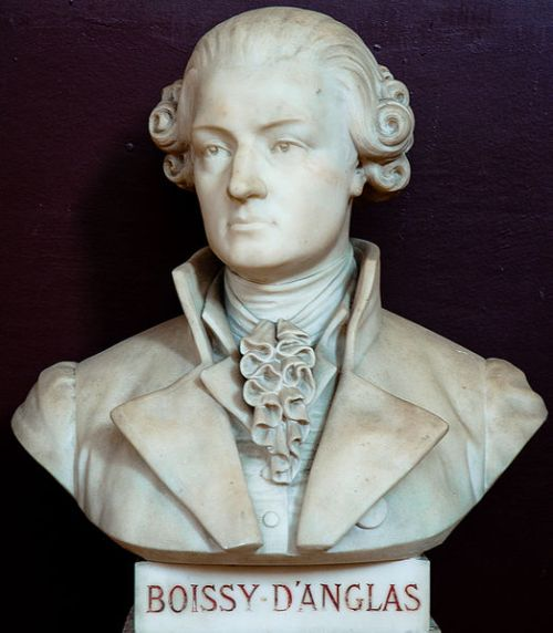 Buste de Boissy d'Anglas, Musée de la salle du jeu de paume, Versailles