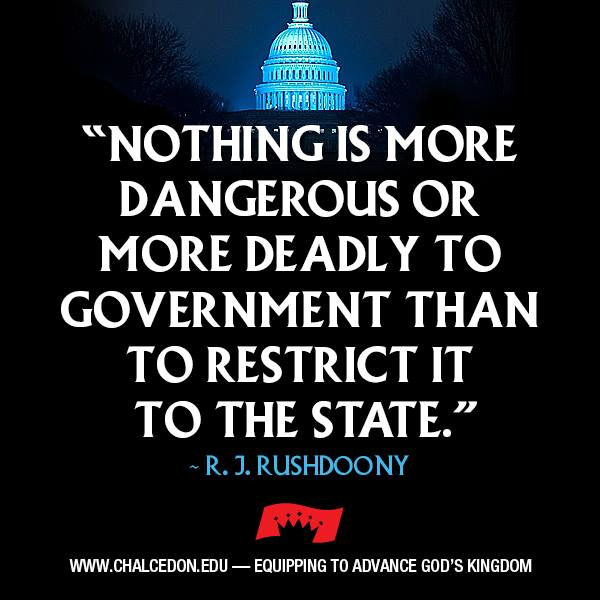 Don't Restrict Government to the State !