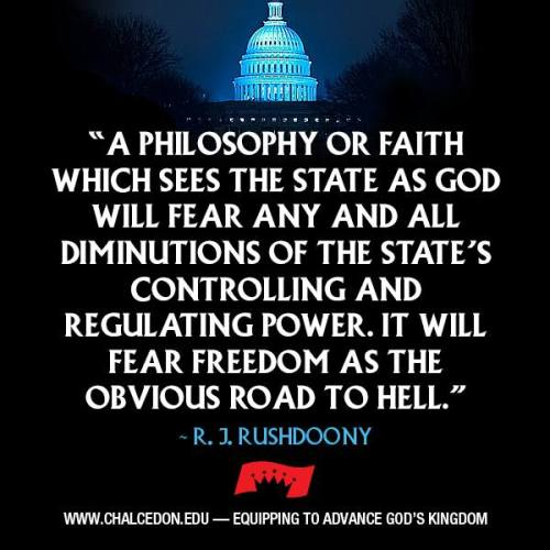 The State is not God !